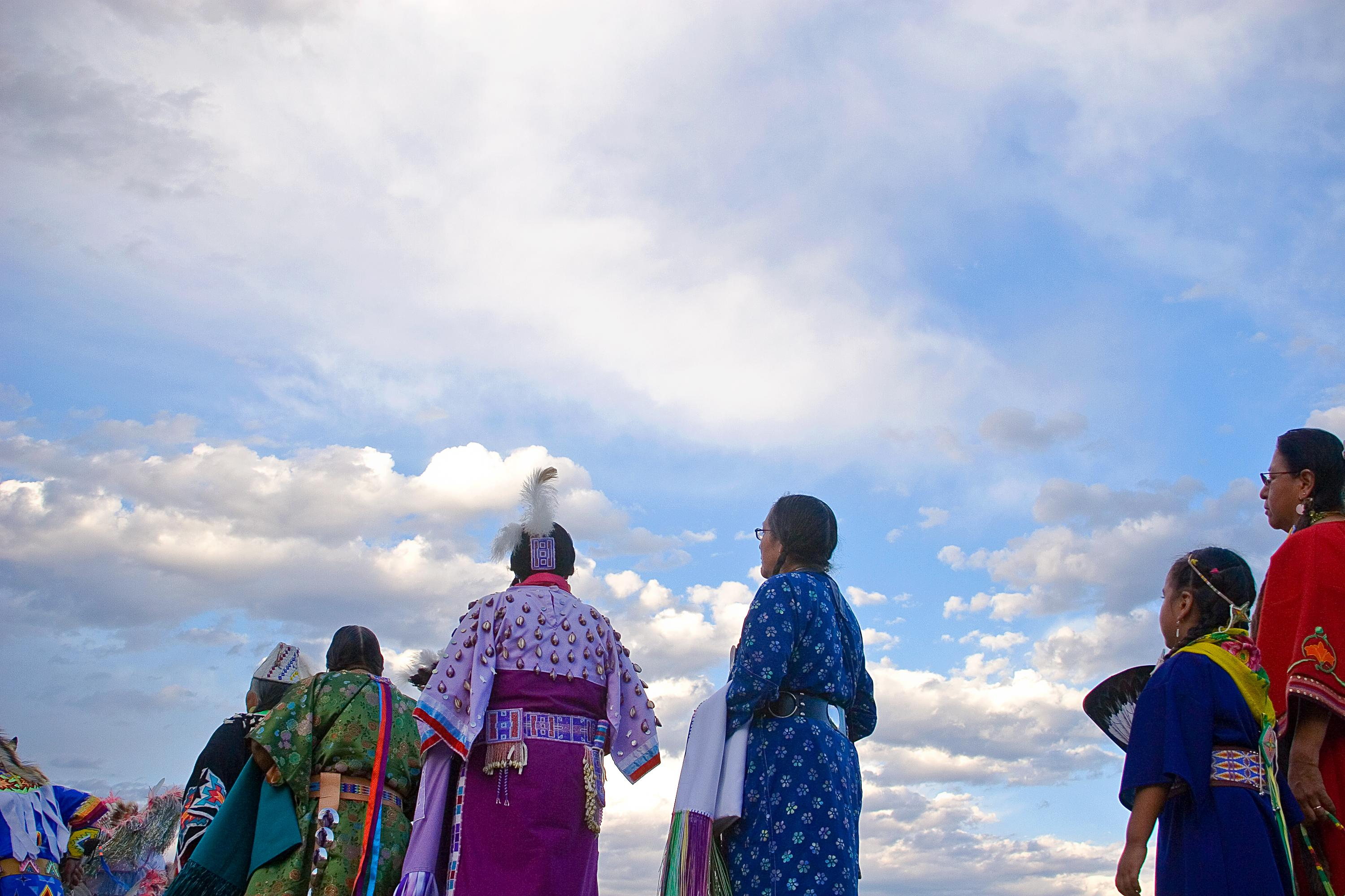 Women Under a Big Sky, Crow Reservation, Montana, 2010 by Sue Reynolds